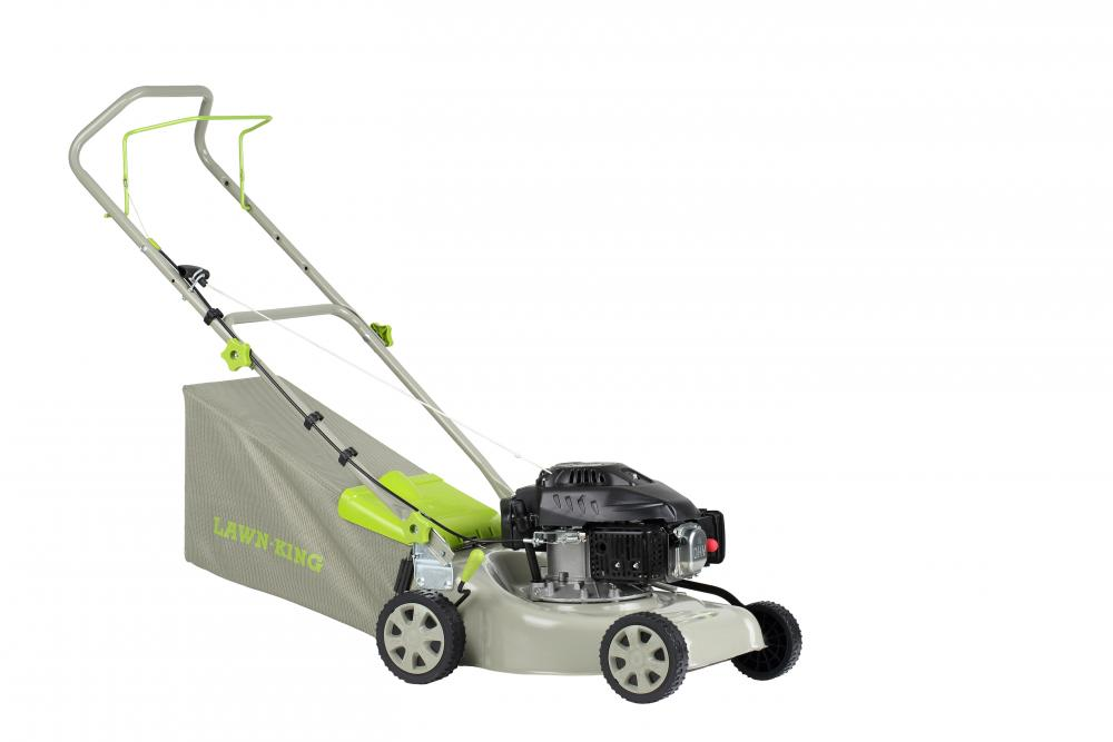 Lawn-King LK41 Hand Propelled Petrol Mower   Plymouth Garden Machinery