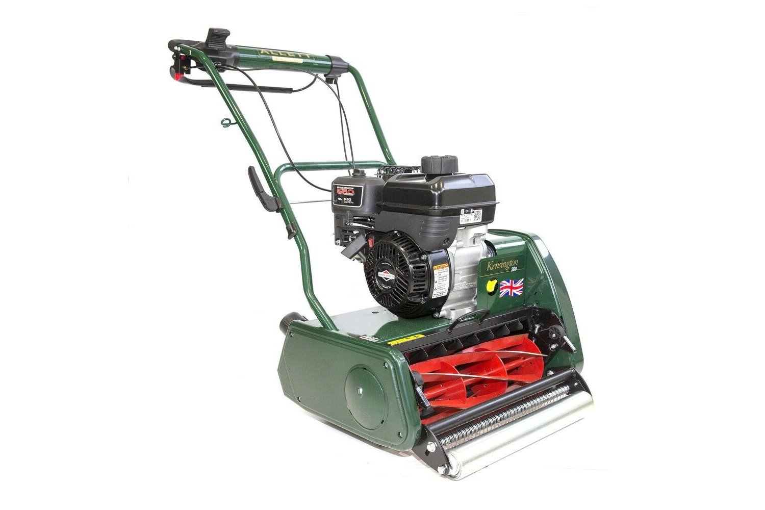 Allett Kensington 20B Petrol Cylinder Mower | Plymouth Garden Machinery