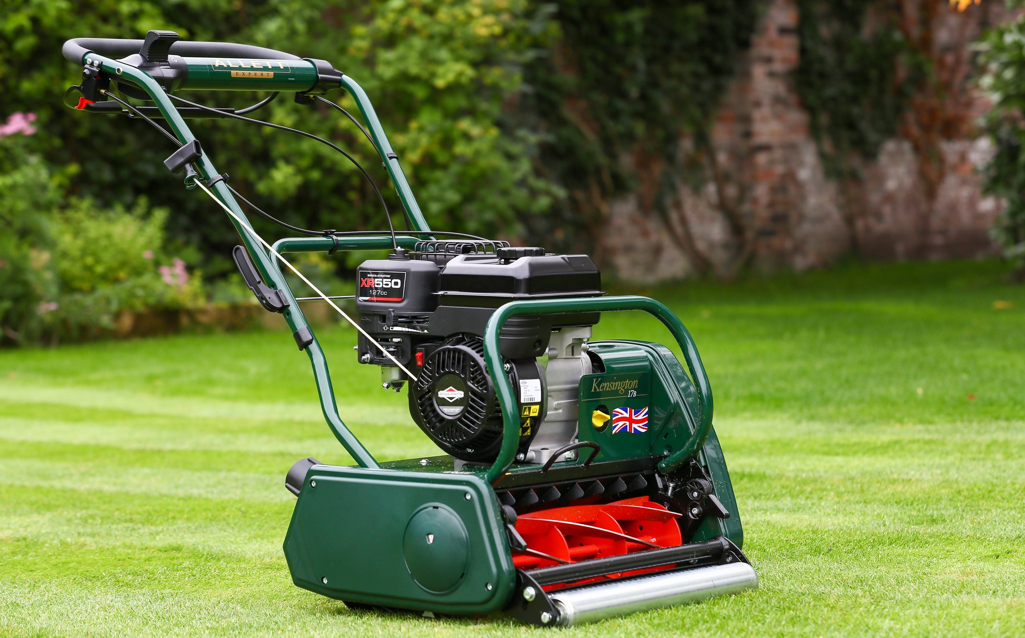 Allett Kensington 17B Petrol Cylinder Mower | Plymouth Garden Machinery