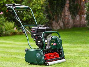 Allett Kensington 17B Petrol Cylinder Mower   Plymouth Garden Machinery