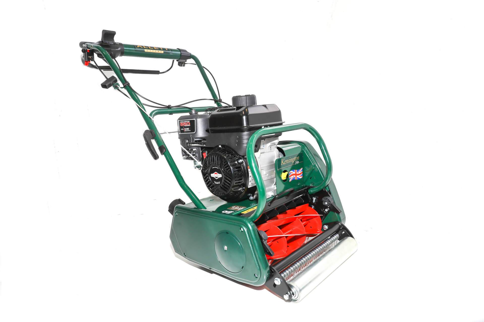 Allett Kensington 14B Petrol Cylinder Mower | Plymouth Garden Machinery