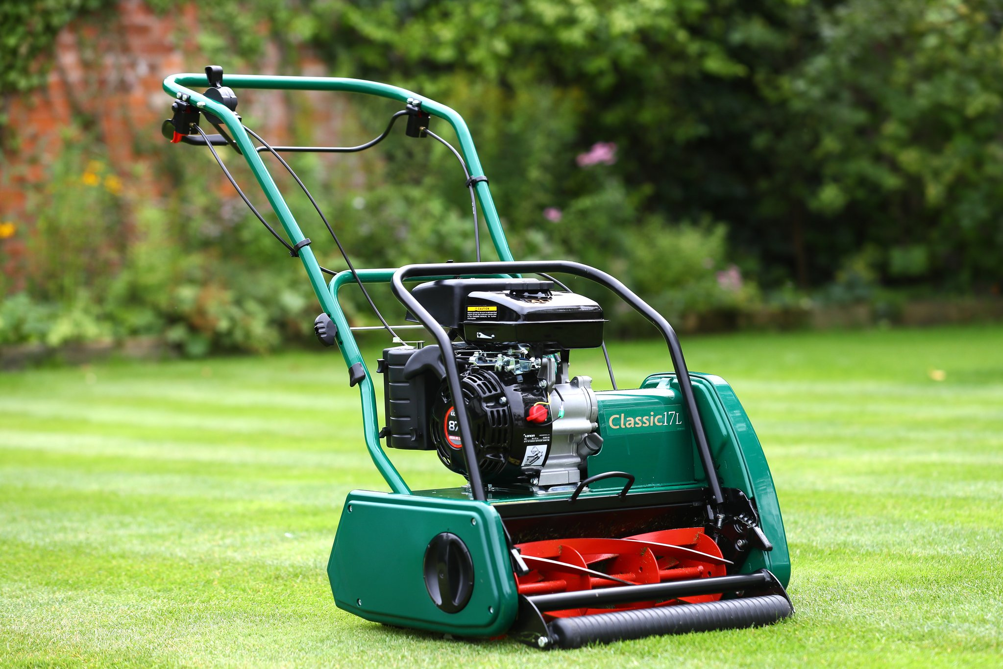 Allett Classic 17L Petrol Cylinder Mower | Plymouth Garden Machinery
