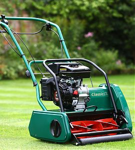Allett Classic 17L Petrol Cylinder Mower   Plymouth Garden Machinery
