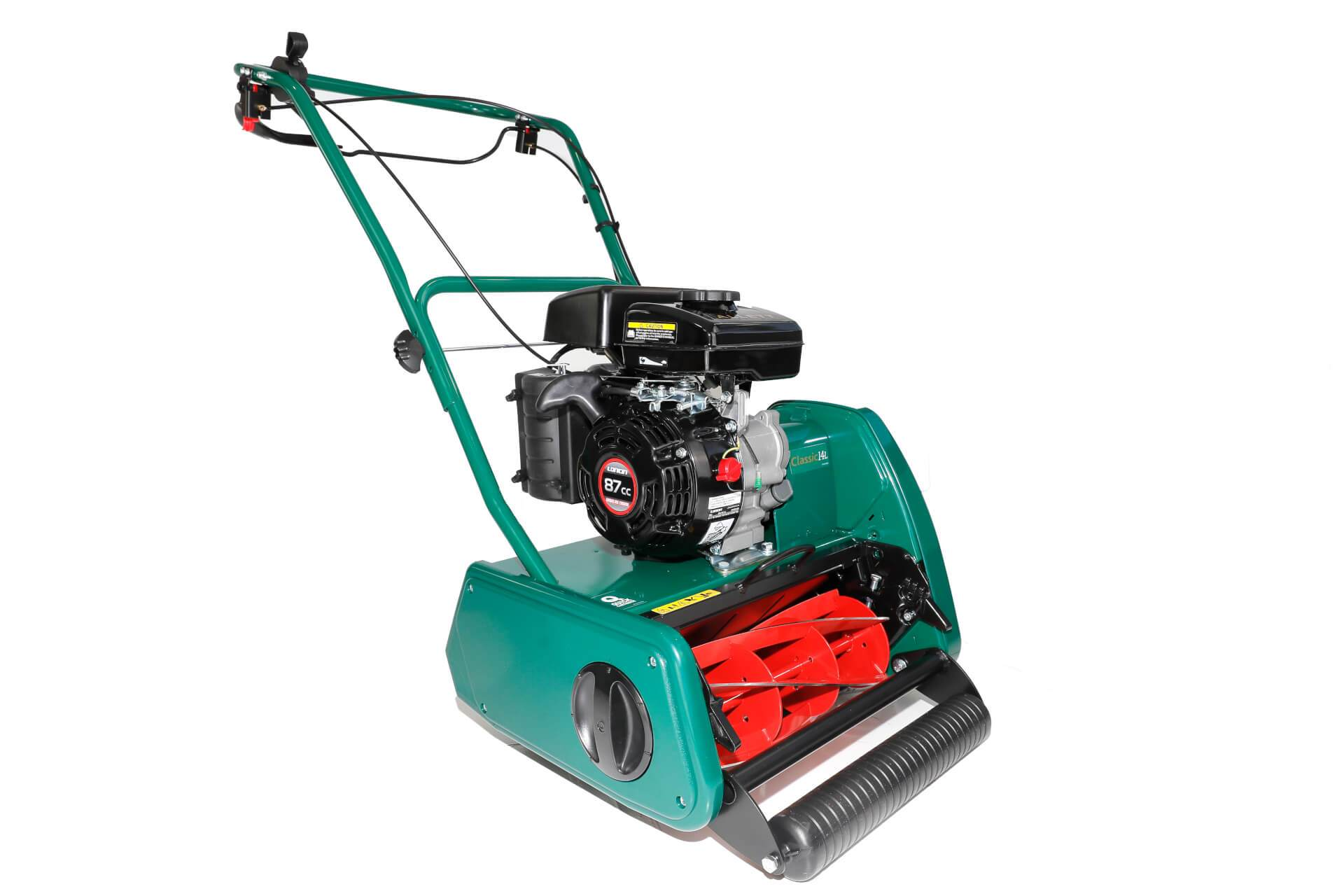 Allett Classic 14L Petrol Cylinder Mower | Plymouth Garden Machinery