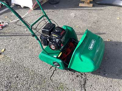 Used Qualcast Cylinder Mower in Good Condition | Plymouth Garden Machinery