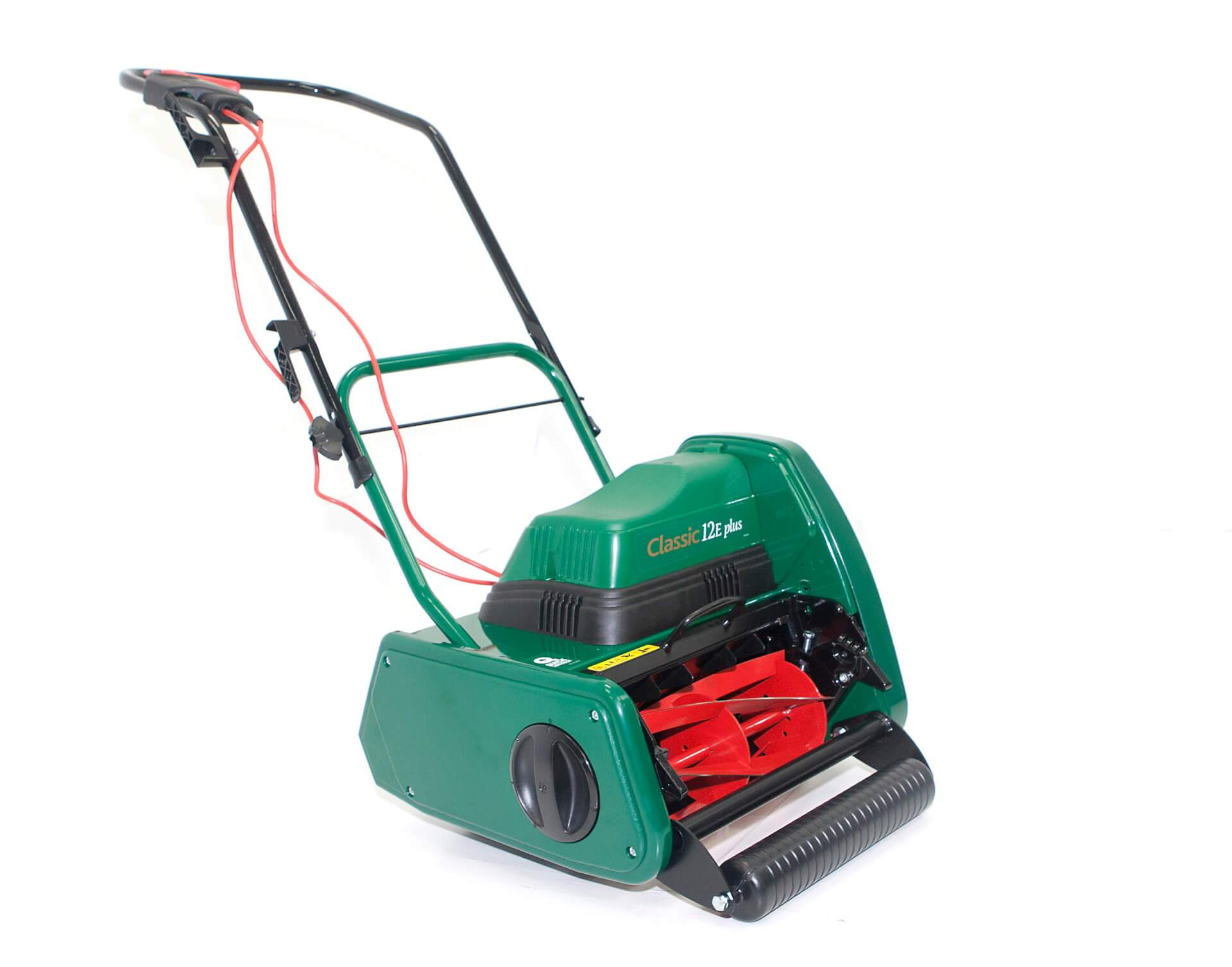 Allett Classic 12E Plus Electric Cylinder Mower | Plymouth Garden Machinery