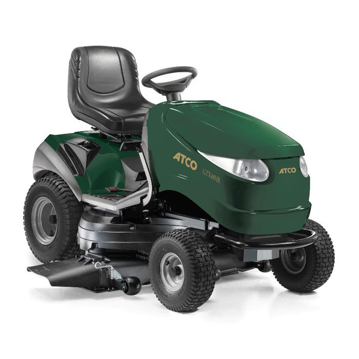 Atco GTX48HR Twin Side Discharge Tractor | Plymouth Garden Machinery
